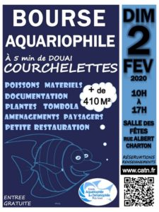 Bourse aquariophile de Courchelettes